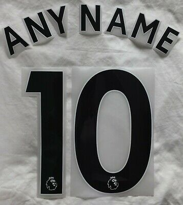 $12.52 • Buy Sporting Id Premier League Football Shirt Name Number Printing 2018 Onward BLACK
