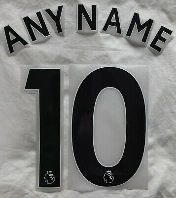 $12.52 • Buy Sporting Id Premier League Football Shirt Name Number Print 2018 Onward JR BLACK