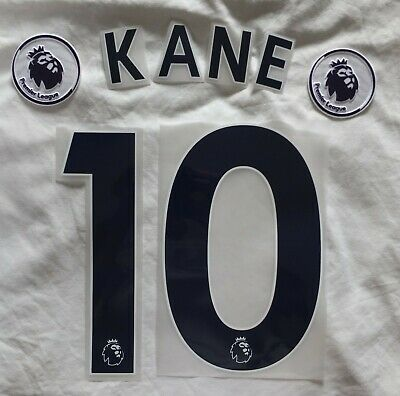 $12.52 • Buy Sporting Id Tottenham Shirt Name & Number KANE 10 & Patches - 2018 Onward - Blue