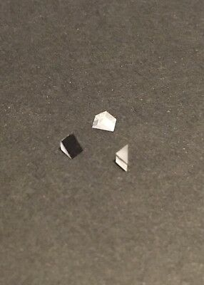 $14.99 • Buy 2mm BK7, Protected Aluminum Coated, Micro Right Angle Prism, 1 Lot Of 3x