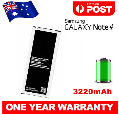 AU14.90 • Buy New Battery For Samsung Galaxy Note 4 SM-N910G N9100 EB-BN910BBE 12 Mth Warranty