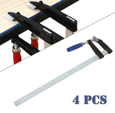 £20.69 • Buy 4x Metal F Clamps 80 X 600mm Woodworking Building Brick Layer Profile Heavy Duty