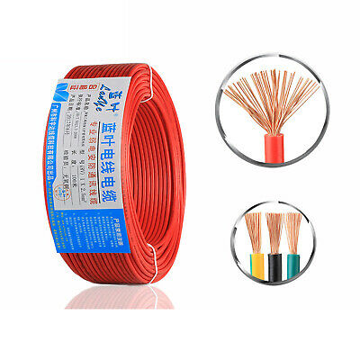£19.89 • Buy Extension Flex Cable Electric Wire 0.5-2.5mm²,Home Outdoor Caravan Camping Wire
