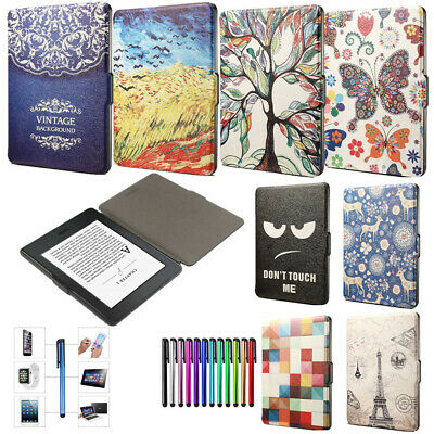 AU12.22 • Buy Slim Leather Case Smart Cover For Amazon Kindle Paperwhite 1234 2016 E-reader