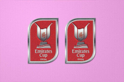 £10.99 • Buy Arsenal Emirates Cup 2014 Sleeve Soccer Patch / Badge