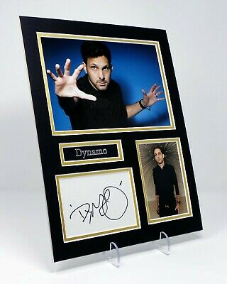 £44.99 • Buy DYNAMO Aka Steven FRAYNE Signed Mounted Photo Display With Authentic AFTAL COA
