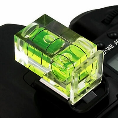 £1.86 • Buy New 2 Axis Bubble Spirit Level Hot Shoe Cover Cap For Camera N4G8 DSLR. X1D0