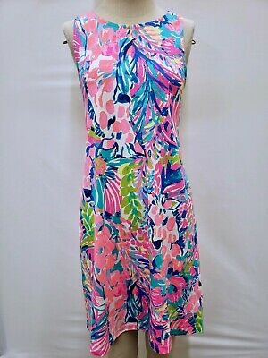 New Lilly Pulitzer Women's Kristen Swing Dress Multi  Gumbo Limbo,  XS-XL • 69.99$