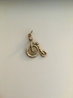 Old Fasion Bike Charm Pendant • 5£