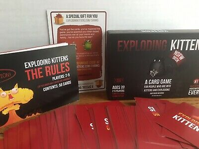 AU9.13 • Buy Exploding Kittens Card Game NSFW Edition