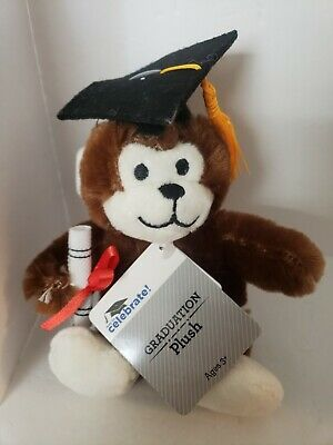 $ CDN3.63 • Buy Way To Celebrate Graduation Plush Monkey With Tassel.  New