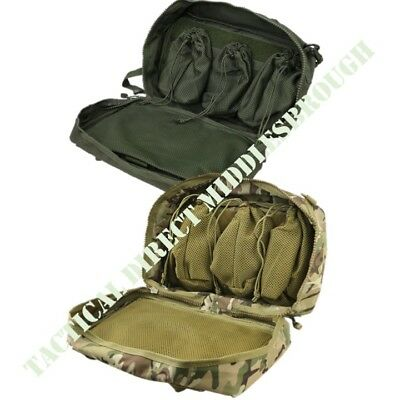 Tactical Army Medic Bergen Side Pouch First Aid Storage Bag Mtp Btp Camo Green • 30.99£
