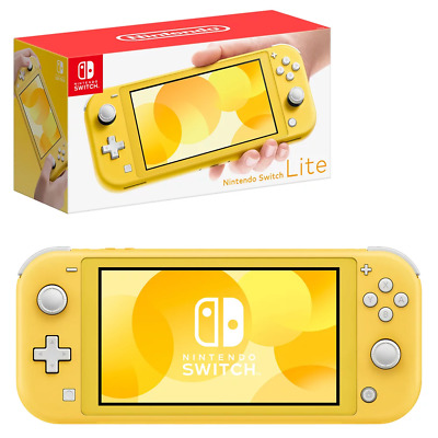 AU342.95 • Buy Nintendo Switch Lite Yellow Console NEW