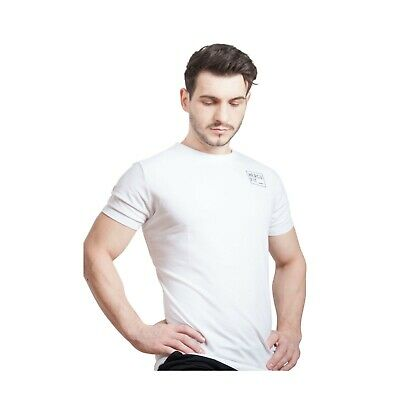 Men Hercufit Original White T Shirt Gym Clothing Fitness Sports X Large Size • 14.99£