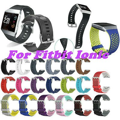 $ CDN5.26 • Buy For Fitbit Ionic Band Replacement Wrist Strap Silicone Smart Watch Band Large