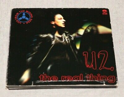 U2 ‎The Real Thing KTS 175/76 2 CD Set Live Rotterdam Ahoy 1993 Rare Germany • 29.99$