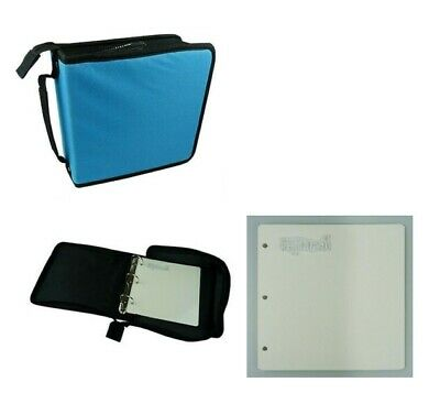 Nellie Storage Case - Blue Cover For Clear Stamps + 5 Mounting Plates / Refills • 13.95£