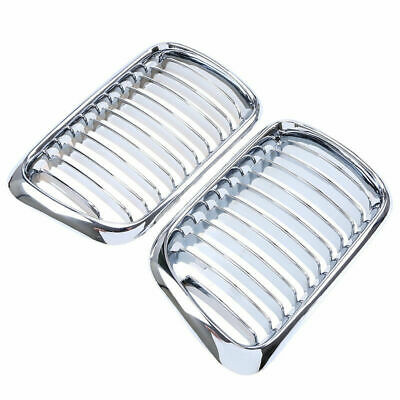$47.69 • Buy For BMW E36 M3 Coupe Sedan Cabrio 1996-2001 Facelift Chrome Front Grill Grille
