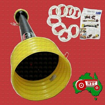 AU126.99 • Buy Tractor Slasher Implement Large PTO Shaft Safety Guard Cover 1.5 Meter Closed