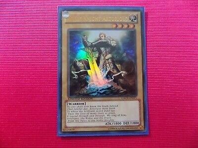Noble Knight Artorigus Gaov-ensp1 NM  Ltd Ed Ultra Rare Yu-Gi-Oh • 1.70£