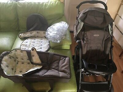 Graco Quattro Tour Deluxe Travel System Pushchair • 18£