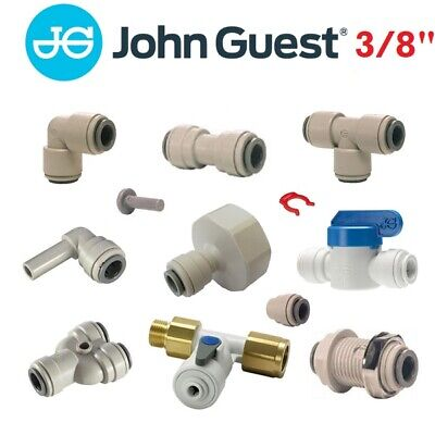 £3.49 • Buy John Guest 3/8  Push Fit Fittings Drinks Dispense And Pure Water, Brewery, Tube