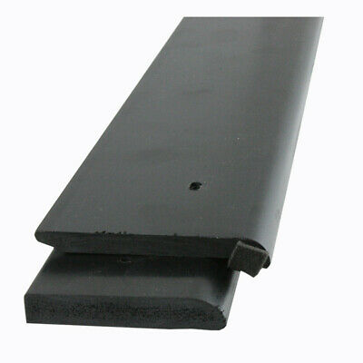 Gutter Drip EPDM Rubber Roofing Edge Trim For Flat Roofs | Black 2.5m • 16.68£