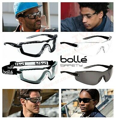 Bolle COBRA Safety Glasses Spectacles Goggles UV Protection Filters Blue Light • 14.29£
