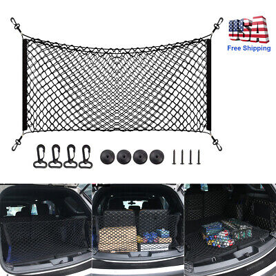 $10.99 • Buy Car Accessories Envelope Style Trunk Cargo Net Storage Organizer Universal Big