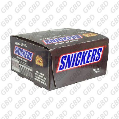 AU40.99 • Buy SNICKERS PICK N MIX 18G (x50)