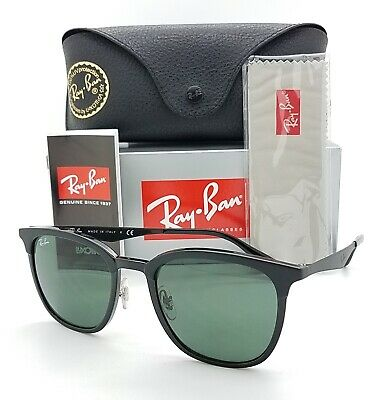AU94.22 • Buy NEW Rayban Sunglasses RB4278 628271 51mm Metal Black Grey Green AUTHENTIC Square