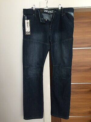 Mens Ze Enzo 989 Blue Jeans! NEW 36 Waist Small • 10.50£