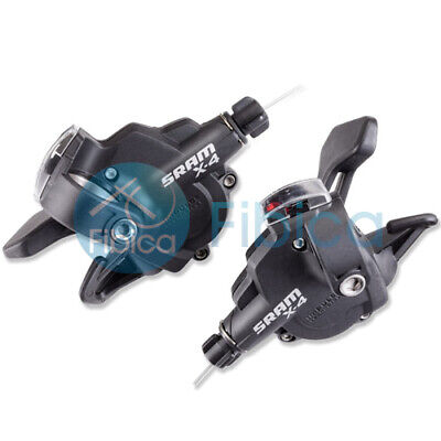 $34.59 • Buy New SRAM X4 Trigger Mountain Shifters Set 3x8-speed Right/Left With Display