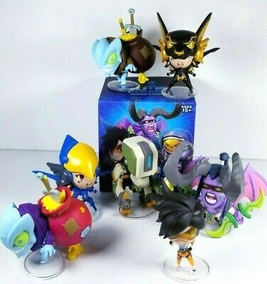 AU83.61 • Buy Overwatch Art Figures Cute But Deadly Blizzard Warcraft Diablo Series 2 SET Of 7