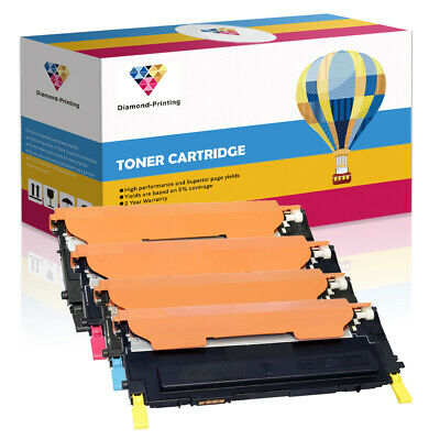 4(set) Toner Cartridges For Samsung CLP310 CLP315 CLX3170FN CLX3175FN CLP315W • 31.99£