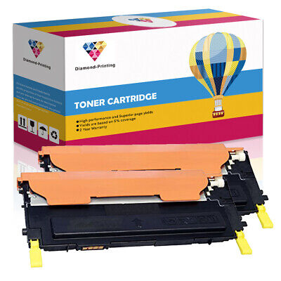 2 Yellow Toner Cartridges For Samsung CLP310 CLP315 CLX3170FN CLX3175FN CLP315W • 16.59£