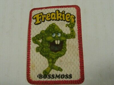 Vintage Freakies Cereal Boss Moss Patch Iron On 1975 • 12$