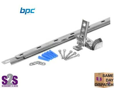 Wall Starter Kits ~ Stainless Steel ~ Ties & Fixings ~ 1pcs 10pcs Or 20pcs • 15£