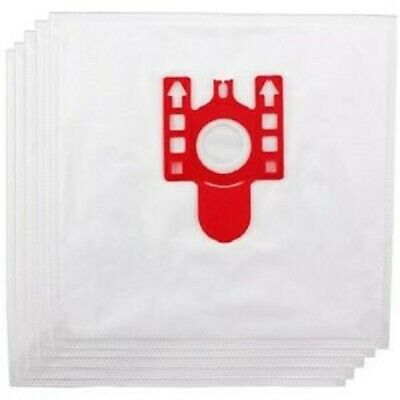 10 Microfibre Bags Fit Miele S4210 S 4210 S4211 S 4211 S570 S 570  Vacuum    Red • 10.99£