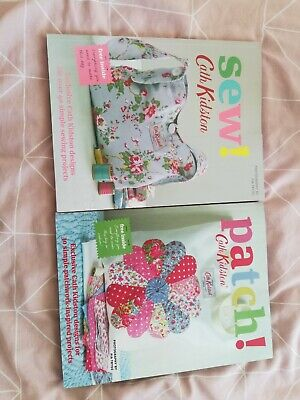 X2 Cath Kidston Sew! And Patch! Big Craft Books. A4 Version  • 6£