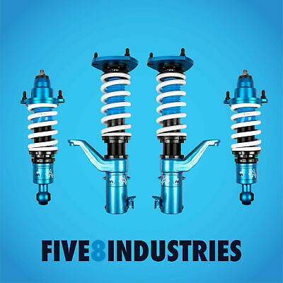 $701 • Buy Five8 Industries For 01-05 Honda Civic Including SI Coilovers Height Adjustable