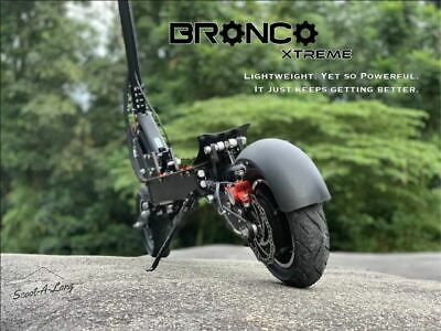 AU2688 • Buy Scoot A Long Bronco Extreme Electric Scooter 1200W 17.5Ah 60v Powerful Fast