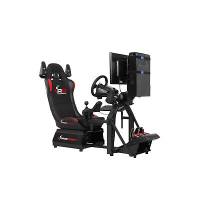 Raceroom Racing - Simulator RR3055+Steering G920+ PC + Sound Game Seat,Race Seat • 2,502.95£