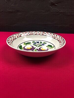 2 X Portmeirion Welsh Dresser Pasta Bowl 8.5  RARE New 7 Sets Available Design 2 • 24.99£