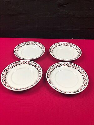 4 X Portmeirion Welsh Dresser Saucers 6  Wide Middle 3.5  New Last Set Available • 12.99£