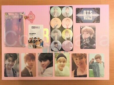 $9.99 • Buy BTS World OST Limited Edition OFFICIAL Photocard Magnet Manager ID Card Wallet