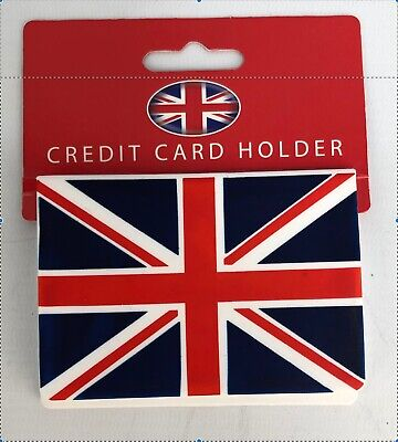 £1.99 • Buy Union Jack Retro Flag Credit Card Bus Pass Travel Card Holder Wallet