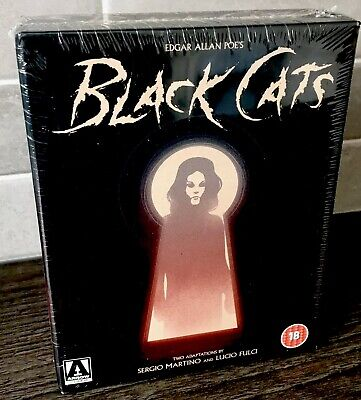 Black Cats - Two Films By Sergio Martino & Lucio Fulci (blu-ray) Arrow Video OOP • 55£