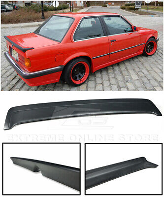 $149.99 • Buy For 85-91 BMW E30 3-Series MTech 1 Style Rear Trunk Lid Wing Heck Spoiler
