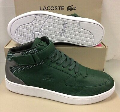 Lacoste Turbo Premium Mid Top Men's Sneakers Trainers Shoes Boots UK 8 / EU 42 • 65£